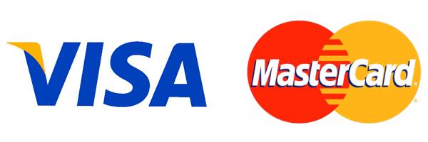 VISAかMASTERで支払可能